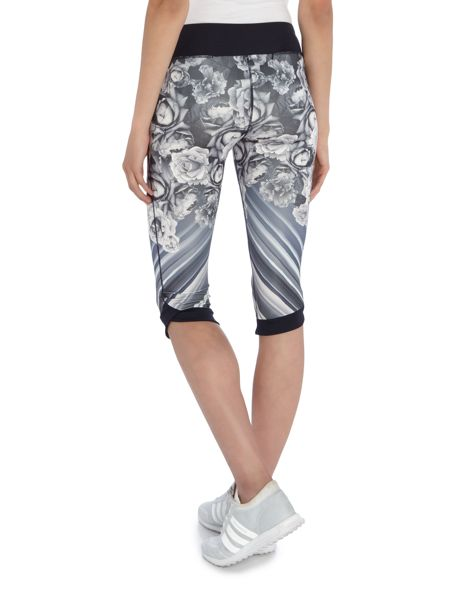 Ted Baker Monorose printed cropped legging