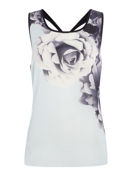 Ted Baker Jersey Woven printed vest