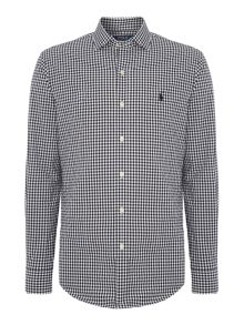 Polo Ralph Lauren Long sleeve slim fit poplin gingham