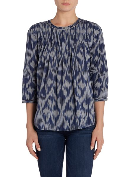Maison Scotch Pleated Top