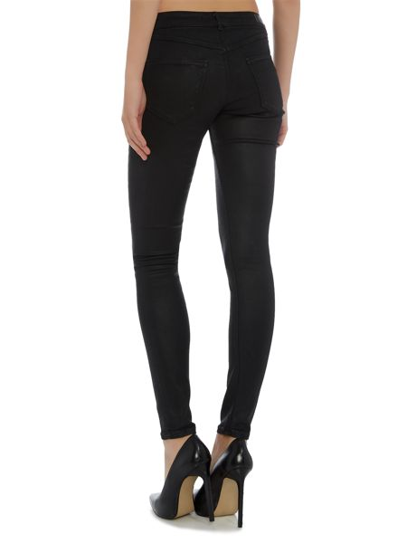 Maison Scotch Coated Skinny Jeans