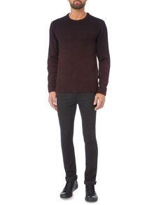 Label Lab Fader Ombre Crew Neck Knit