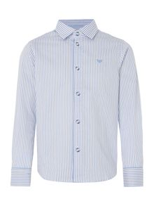 Armani Junior Boys Thin Striped Shirt