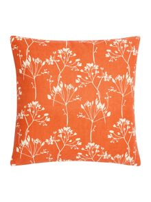 Linea Leaf silhouette cushion
