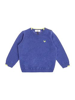Baby Boys Crew-Neck Jumper