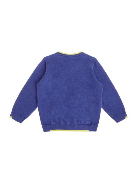 Armani Junior Baby Boys Crew-Neck Jumper