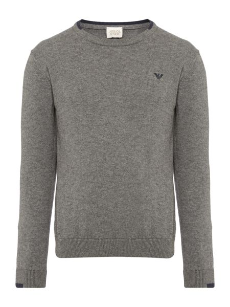Armani Junior Boys Crew Neck Jumper