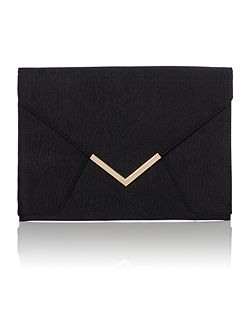 Envelope bar clutch bag
