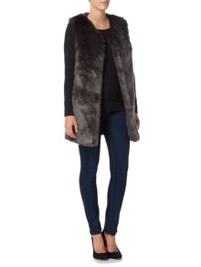 Ruby + Ed Faux Fur Gilet