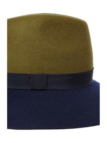 Dickins & Jones Colour Block Fedora