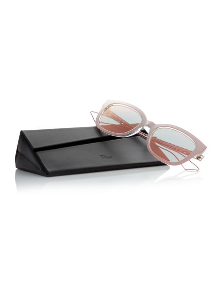 Dior Sunglasses Pink rectangle diorama1 sunglasses