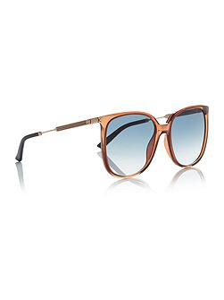 Gold rectangle GG 3845/S sunglasses