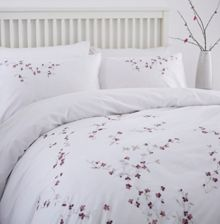 Linea Isla embroidery duvet cover set