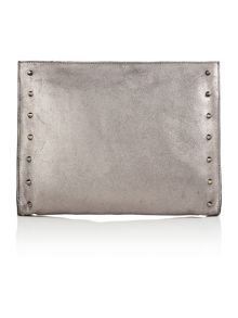 Label Lab Studded clutch handbag