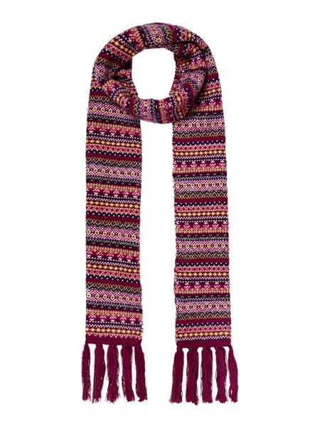 Dickins & Jones Fairisle Scarf
