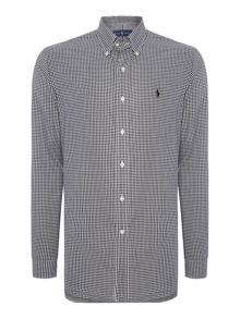 Polo Ralph Lauren Long sleeve poplin large gingham check shirt