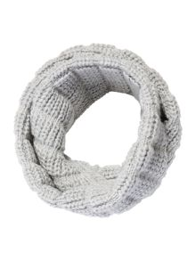 Gray & Willow Mixed Knit Snood
