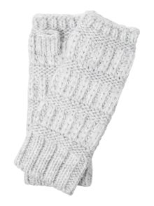Gray & Willow Mixed Knit Hand Warmers