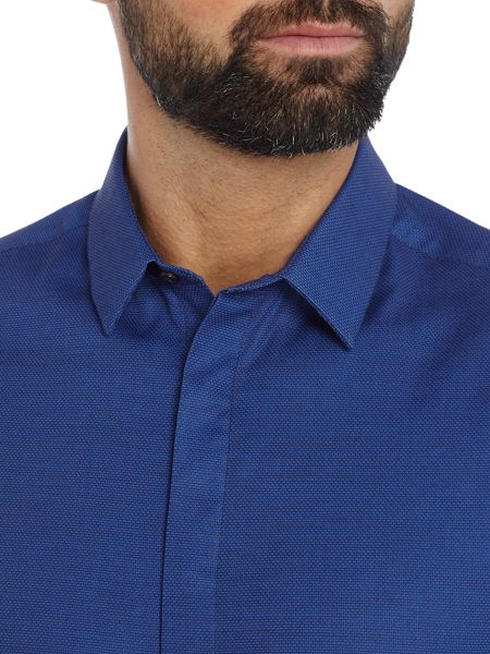 Kenneth Cole Lenox Textured Shirt