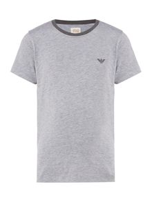 Armani Junior Boys Crew Neck T-Shirt
