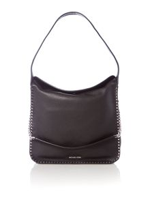 Michael Kors Astor black large hobo bag