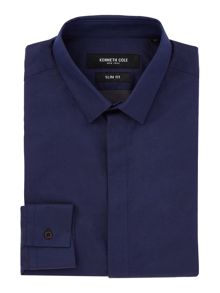 Kenneth Cole Sax Denim Twill Shirt