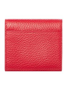 Lulu Guinness Hettie red small cardholder