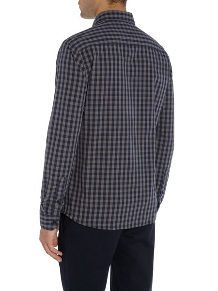 Only & Sons Gingham Check Long Sleeve Shirt