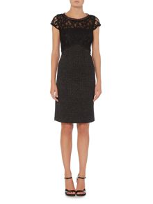 Linea Textured lace dress