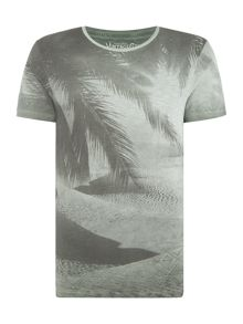 Jack & Jones Vintage Beach Graphic Crew Neck T-shirt