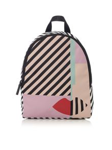 Lulu Guinness Multi Anna doll face backpack