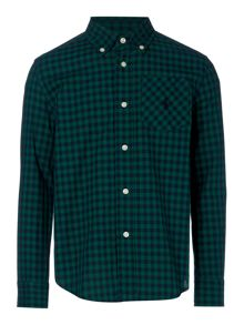 Polo Ralph Lauren Boys Gingham Poplin Shirt
