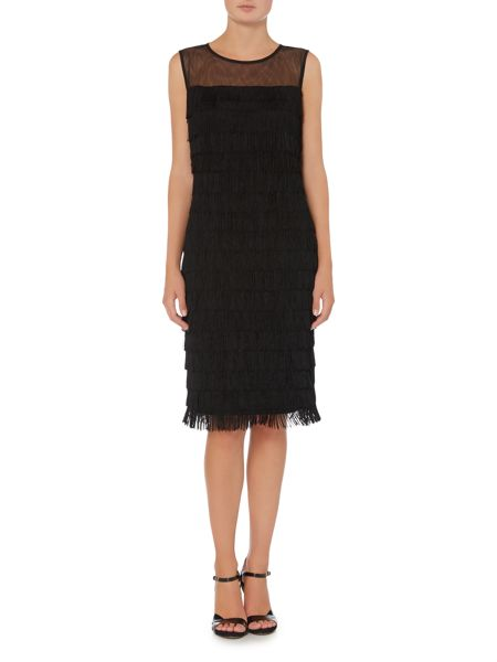 Linea Layered fringe dress
