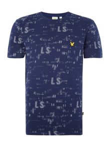 Lyle and Scott Sport Short Sleeve Reed Graphic T-Shirt