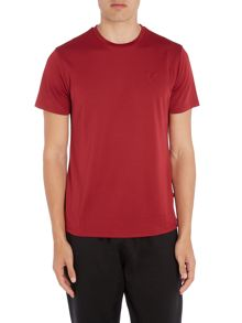 Lyle and Scott Sport Short Sleeve Embossed Crew Neck T-Shirt