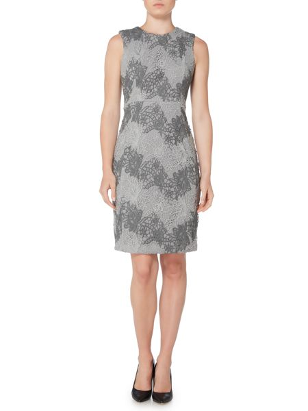 Episode Textured lace shift dress
