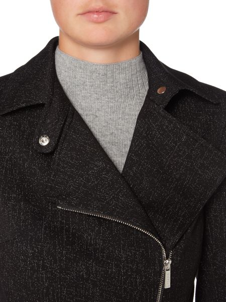 Episode Long sleeve jacket with asymetric zip