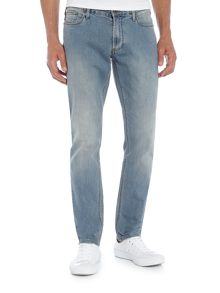 Armani Jeans J06 slim fit light wash jeans