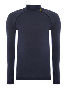 Lyle and Scott Sports Long sleeve ruff neck base layer top
