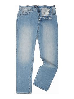 J21 regular fit light wash jeans