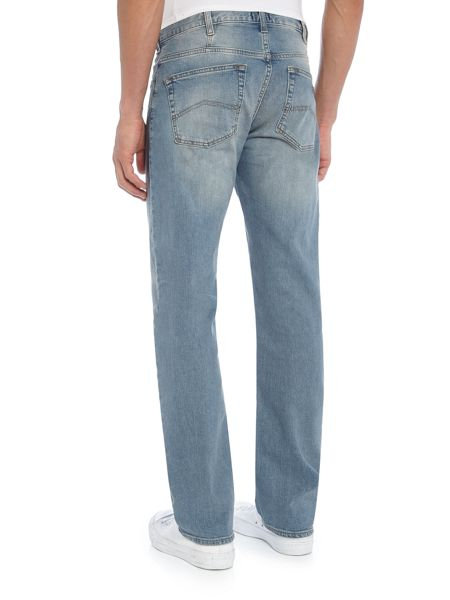 Armani Jeans J21 regular fit light wash jeans