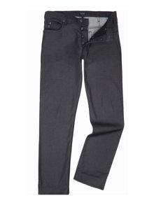 Armani Jeans J21 regular fit washed black jeans