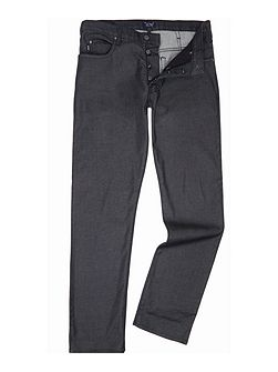 J21 regular fit washed black jeans