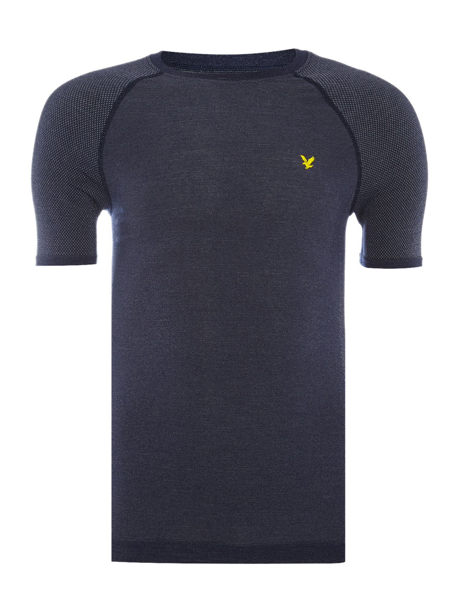 Lyle and Scott Men's Lyle and Scott Sports Short sleeve base layer top, Navy