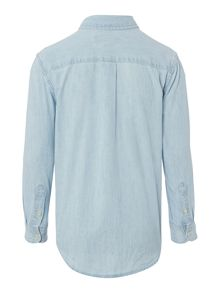 Polo Ralph Lauren Boys Chambray Small Logo Shirt