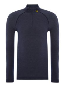 Lyle and Scott Sports Long sleeve 1/4 zip base layer top