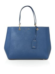 DKNY Saffiano blue tote shoulder
