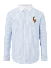 Polo Ralph Lauren Boys Oxford Stripe Shirt