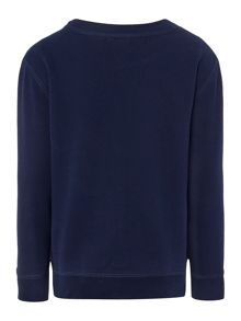 Polo Ralph Lauren Boys Crew Neck Cotton-Fleece Sweatshirt