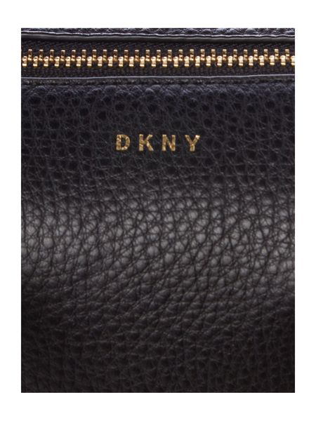 DKNY Tribeca black small tote cross body bag